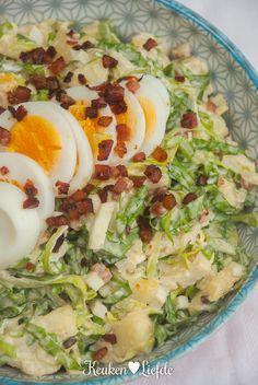 Plat Simple, Good Food, Yummy Food, Dutch Recipes, Happy Foods, Salad Bar, Potato Salad, Dinner Recipes
