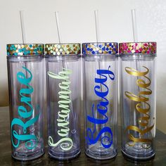 Check out this item in my Etsy shop https://www.etsy.com/listing/466265791/custom-tumbler-one-personalized