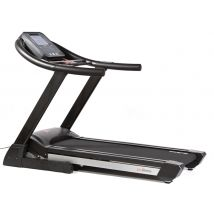 This is the JTX Sprint 9 - the largest treadmill we recommend for home use. At £1299 it's a fraction of the cost of the commercial treadmills found at the gym, but it doesn't compromise on quality and performance.The flexible running deck is the same size that you'd see in the gym, but folds up to save you space after your workout. Read more here: http://www.jtxfitness.com/treadmills/jtx-motorised-folding-sprint9