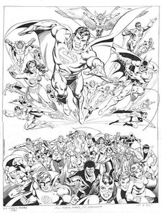 So this is original art for a Jose Garcia Lopez poster commissioned in 1981, inked by Dick Giordano. It features several Legionnaires, including Tyroc. Question: was this ever released by DC as a proper promotional or merchandise item?