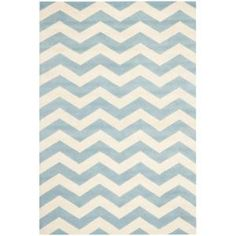 Safavieh Chatham Blue/Ivory 5 ft. x 8 ft. Area Rug-CHT715B-5 at The Home Depot