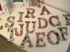 letras forradas com BD