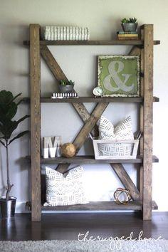 DIY Bookshelf …