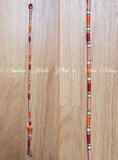 10# Peachy Removable Hair Wrap / Hair Braid / Plait-in