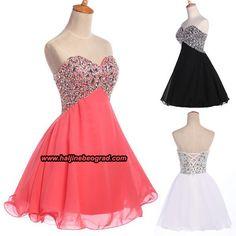 Kratke maturske haljine