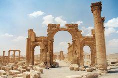 Palmyra Ruins Syria