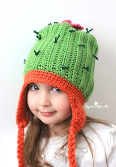 Crochet Cactus Hat - Repeat Crafter Me