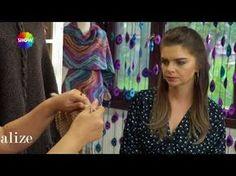 Alize Superlana Maxi ile Panço Yapımı - Poncho with Alize Superlana Maxi - YouTube