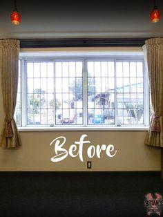 A homeowner wants privacy at his front window, but instead of hanging curtains he does this!