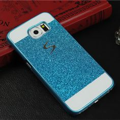 Luxury Glitter Case For Samsung galaxy s5 i9600 Sparkle Bling Cover mobile phone PC material New Arrive 2016 accessories pink