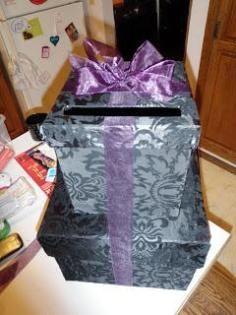 DIY Tutorial Wedding Stuff / How to Make a Wedding Card Box - YouTube - Bead&Cord