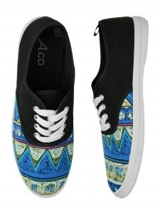 Trendy and tribal! Ardene sneakers are an essential part of any street chic look.