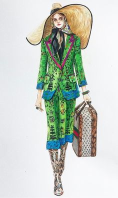 Gucci by @sonia_shao| Be Inspirational ❥|Mz. Manerz: Being well dressed is a beautiful form of confidence, happiness & politeness