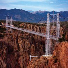 Royal Gorge Bridge - Colorado, largest suspension bridge in the world