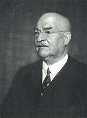 Carl Duisberg * 29.9.1861 - 19.03.1935 *