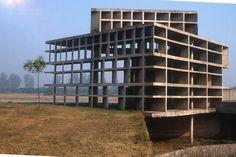 Le Corbusier, Tower of Shadows, Chandigarh, India by Nicholas Iyadura