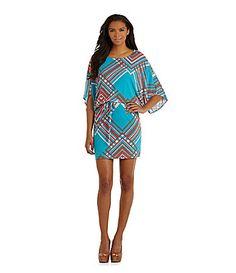 Jessica Simpson Printed Blouson Dress #Dillards