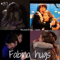 OMG soo cute! Fabina is and always be the most awesome couple ever! i was so upset she wasn't on season 3