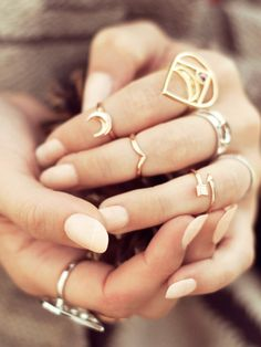 above the knuckle rings.