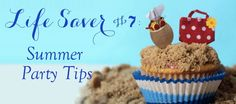 Linen, Lace, & Love: Life Saver #7: Summer Party Tips