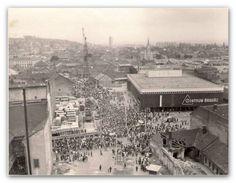Miskolc retro: Így változott a Centrum Áruház Paris Skyline, Marvel, Retro, Iron, Retro Illustration, Mid Century, Steel
