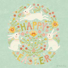 "369 Me gusta, 8 comentarios - Janna (@tabularosi) en Instagram: ""Happy Easter, everyone!  #Easter #Bunnies #artlicensing #artwork #illustration"""