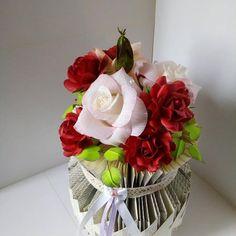 Glass Vase, Home Decor, Poppies, Decoration Home, Room Decor, Home Interior Design, Home Decoration, Interior Design