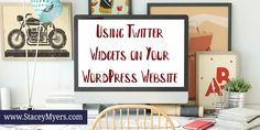 Blog post at Stacey Myers :  	Using Twitter Widgets on Your WordPress Website    	Twitter widgets are great for social engagement, as your… Twitter For Business, Business Tips, Social Media Tips, Blogging, Wordpress, Real Estate, Advice, Engagement, Website