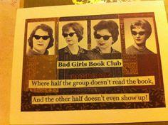 Book club humor