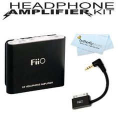 FiiO E5 Portable Headphone Amplifier for Audio-Technica ATH-M50 ATH-ANC7B ATH-M50S ATH-M20 ATH-M30 ATH-M40FS ATH-ANC23 + BONUS Fiio L9 L-Shaped Line Out Dock (LOD) Cable for iPhone and iPod + ButterflyPhoto Microfiber Cleaning Cloth (Electronics) http://www.amazon.com/dp/B007I6S0RY/?tag=celebtrend-20 B007I6S0RY