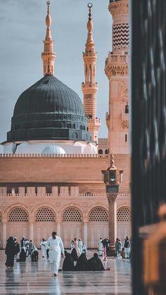 Islamic Wallpaper Iphone, Mecca Wallpaper, Quran Wallpaper, Islamic Quotes Wallpaper, Beautiful Islamic Quotes, Beautiful Mosques, Islamic World, Islamic Art, Mekka Islam