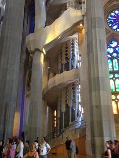 Detail Gaudi's Sagrada familia, Barcelona, Spain