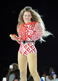 Photos of Beyonce's Outfits in Formation Tour 2016 in Miami | Glamour