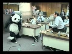 """One of the best (funniest) commercials made. """"Never say no to Panda."""""""