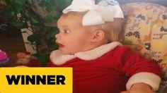 Fake Sleeper Wakes Up for Santa | AFV