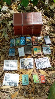 Harry Potter Trunk Harry Potter Jewelry Box by LydiasTrunkStore