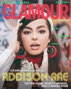 TikTok Star Addison Rae Opens Up About Success, Mental Health, Trolls & TikTok Sisterhood | Glamour UK Glamour Uk, Glamour Magazine, Netflix, Star Beauty, Aesthetic Songs, Aesthetic Girl, Dramatic Look, Hollywood Star, Happy Women
