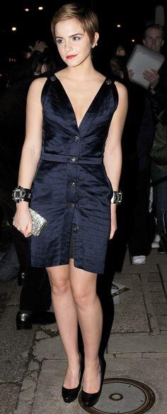 En 2013 en la fiesta pre-BAFTA en Londres | 21 ocasiones en las que Emma Watson demostró ser la mujer más impecable de la década
