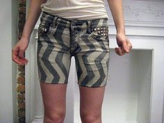 DIY summer shorts...@lindsee andersen...can you imagine how unflattering these would be!?  everything about these would look terrible on me.