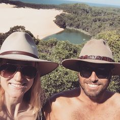 """ea5bc552 Akubra Hats on Instagram: """"Thanks to @penny_jane__ for sending this photo  in of their holiday on Fraser Island. Enjoy keeping those sun rays off your  heads ..."""