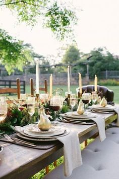 Dining alfresco - Rustic, charming, classy.