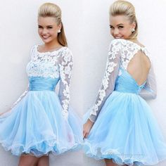 This one is my FAVORITE one I have on this board! Beautiful lace, and baby blue dress
