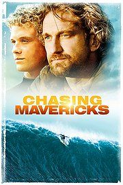 Chasing Mavericks: Jonny Weston, Gerard Butler, Elisabeth Shue, Abigail Spencer This movie is unbelievably good! Hd Movies, Movies To Watch, Movies Online, Movie Tv, Surf Movies, 2012 Movie, Drama Movies, Movies Free, Netflix Movies