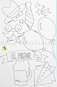 Bubble Alphabet, Kindergarten Math Worksheets, Ideas Para Fiestas, Birthday Balloons, Candyland, Fathers Day, Diy And Crafts, Doodles, Letters