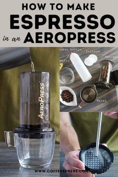 How to Make Espresso with Aeropress: A Step by Step Guide Step Guide, Espresso Machine, Coffee Maker, Bottle, Espresso Coffee Machine, Coffee Maker Machine, Coffee Percolator, Coffee Making Machine, Flask
