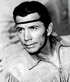 "*HAROLD J. SMITH ~ aka: Jay Silverheels, played Tonto, a sidekick in ""The Lone Ranger"", 1949-1957"