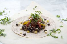 Mexican food is a staple in our vegan lifestyle because it's always full of colours and flavours. Fajitas are a great meal for any night of the week and can be whipped together in a hurry. These black bean fajitas are quick to make, and even better to eat.