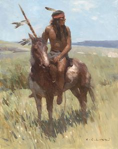 ... by Z. S. Liang Native American Indian, Piegan War Chief, South Piegan
