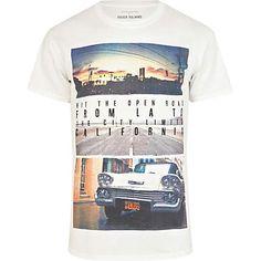White California photograph print t-shirt - print t-shirts - t-shirts / vests - men