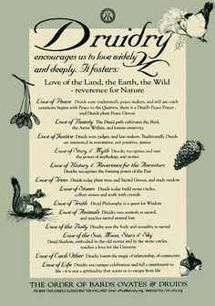 Celtic Sprite: Druidry: Aims, Statements of Faith and Purpose Wicca Witchcraft, Magick, Wiccan Witch, Hoodoo Spells, Kitchen Witch, Celtic Druids, Celtic Paganism, Celtic Mythology, Norse Pagan